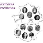 Mapa de escritoras de Extremadura