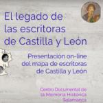 Presentación del Mapa de Escritoras de Castilla y León